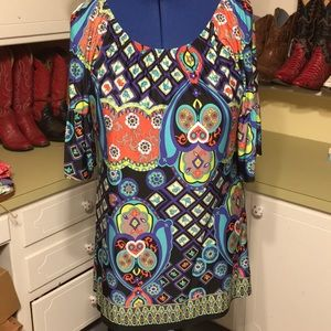 Pretty Dress/Tunic with Belled Sleeves